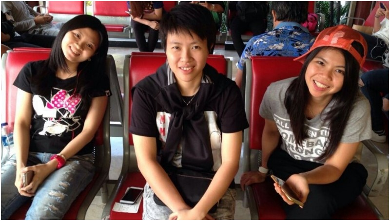Debby Susanto, Liliyana Natsir dan Greysia Polii bersiap menuju Kudus