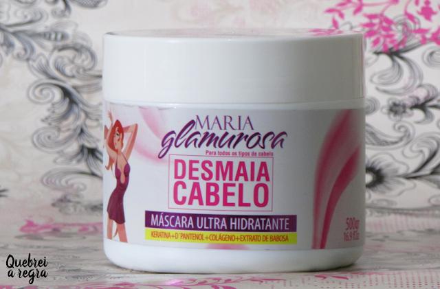 Máscara Ultra Hidratante Desmaia Cabelo - Maria Glamurosa