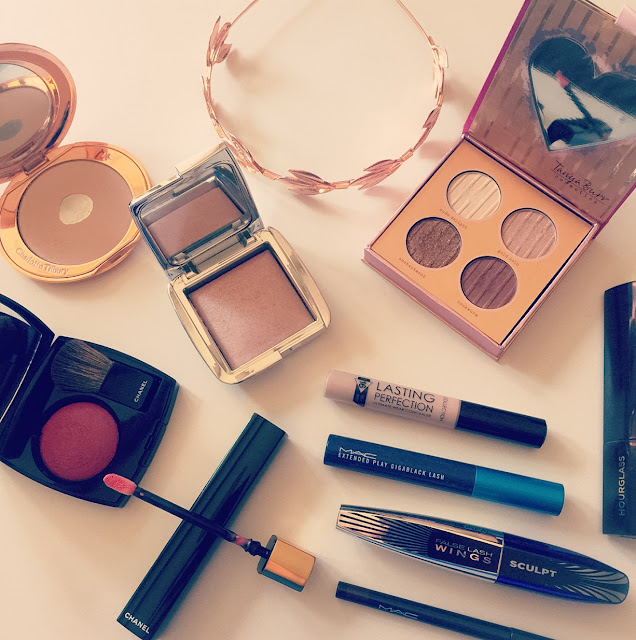Melbourne Cup Beauty Makeover - Rosy Gold Makeup