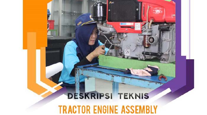 LKS SMK Tractor Engine Assembly