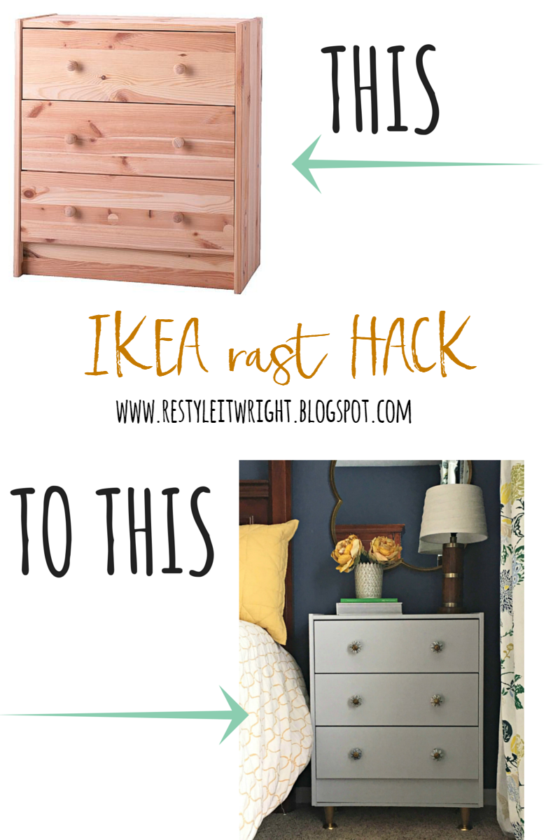 Ikea Rast Restyle Ikea Rast Hack Restyle It Wright