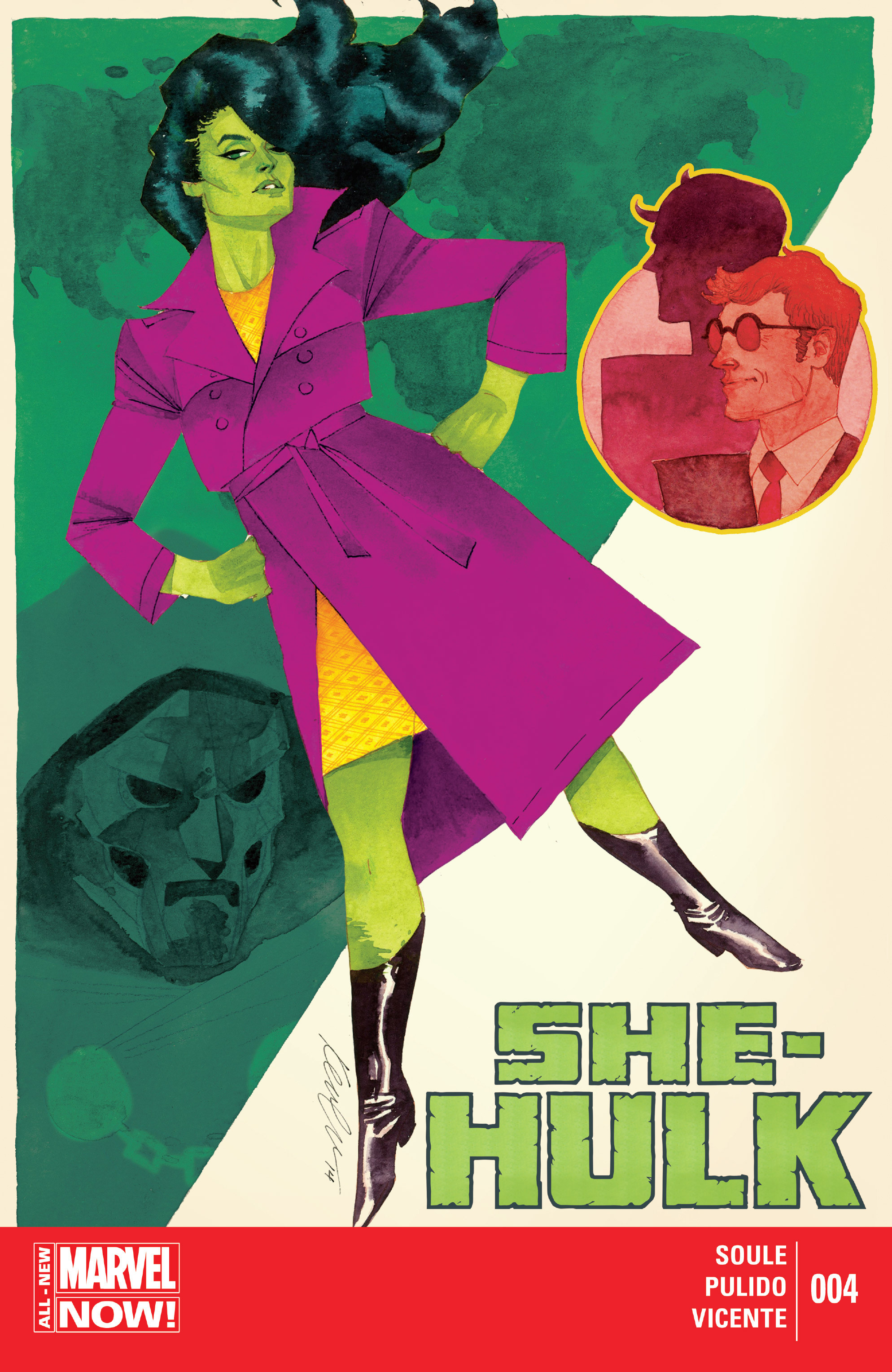 Read online She-Hulk (2014) comic -  Issue #4 - 1