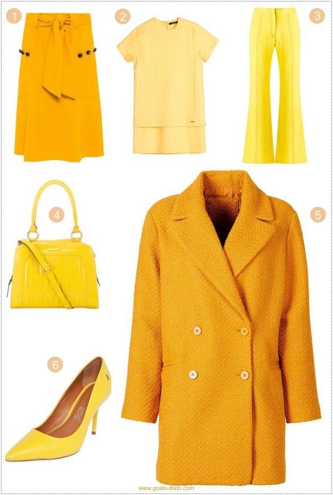 Amarelo é a cor do inverno 2017 – Cores do street style II
