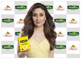 "Bollywood's own royalty Kareena Kapoor Khan makes a comeback with Marvel Tea's latest campaign shot in London, ""Har Lamha Naya ho jaye"""