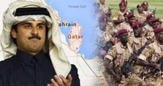 تميم يصعد عسكريا.. قطر تحشد 16 دبابة وتهدد جيرانها بفتح النار على سفنها بالمياه الإقليمية