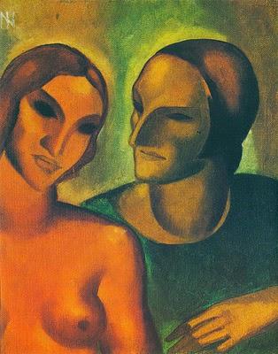 "Dois Amantes - Ismael Nery e suas pinturas ~ O ""Pintor Maldito"""