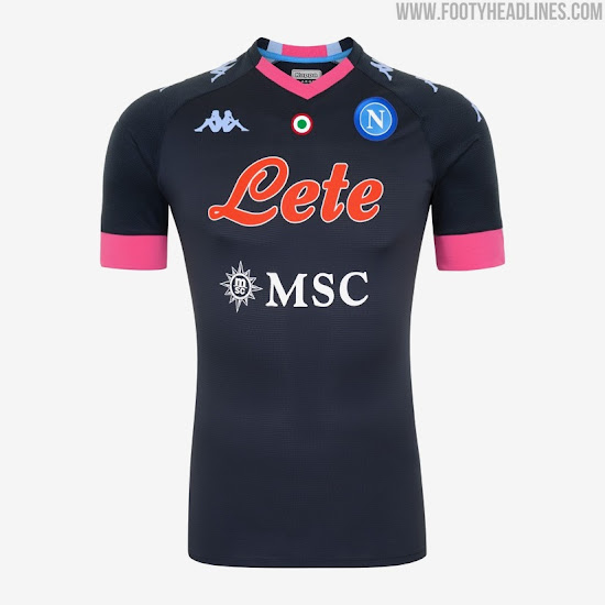 Napoli 20-21 Home, Away, Third & Goalkeeper Kits Released - Footy ...