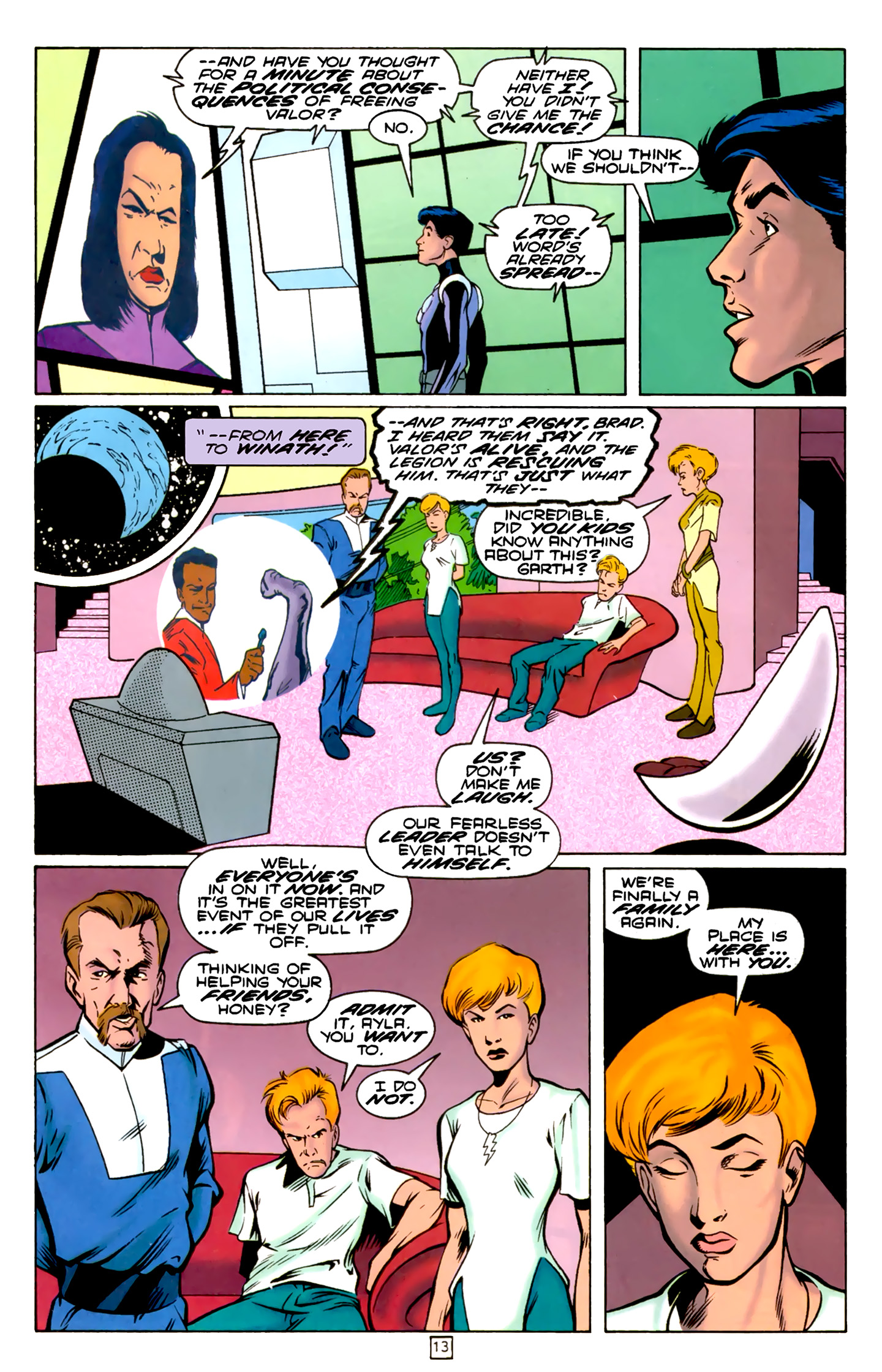 Legion of Super-Heroes (1989) 74 Page 13