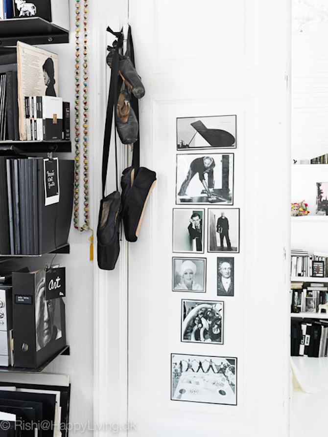 Artist Tenka Gammelgaard's studio