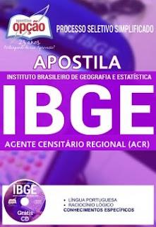 Apostila Concurso IBGE 2017 Agente Censitário Regional (ACR)