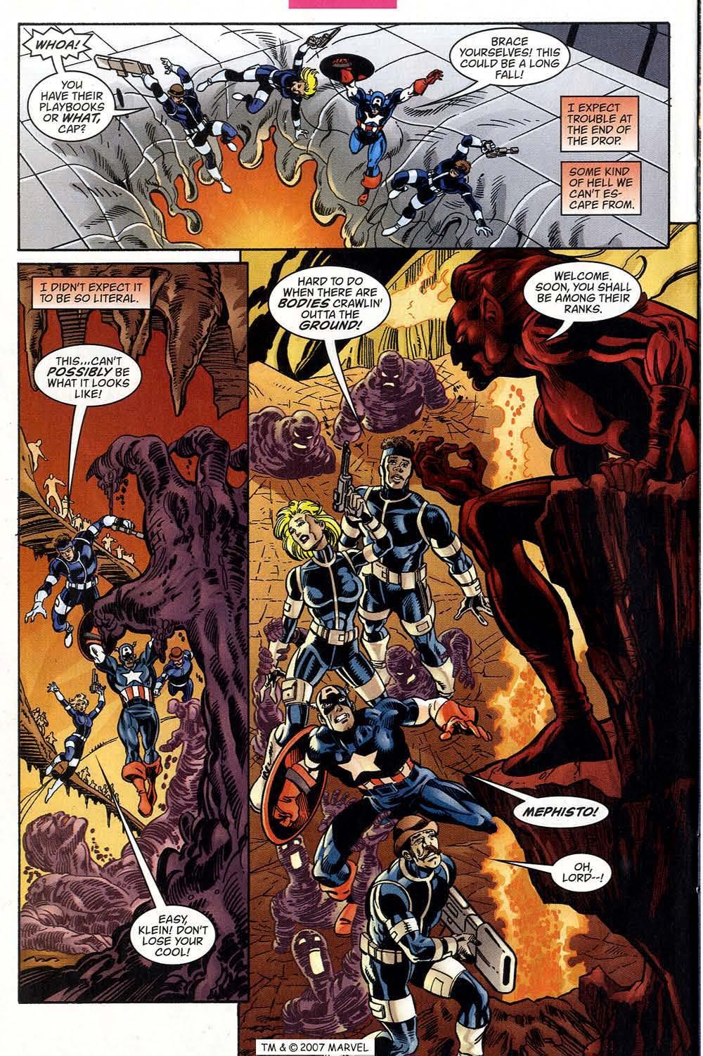 Captain America (1998) Issue #39 #46 - English 22