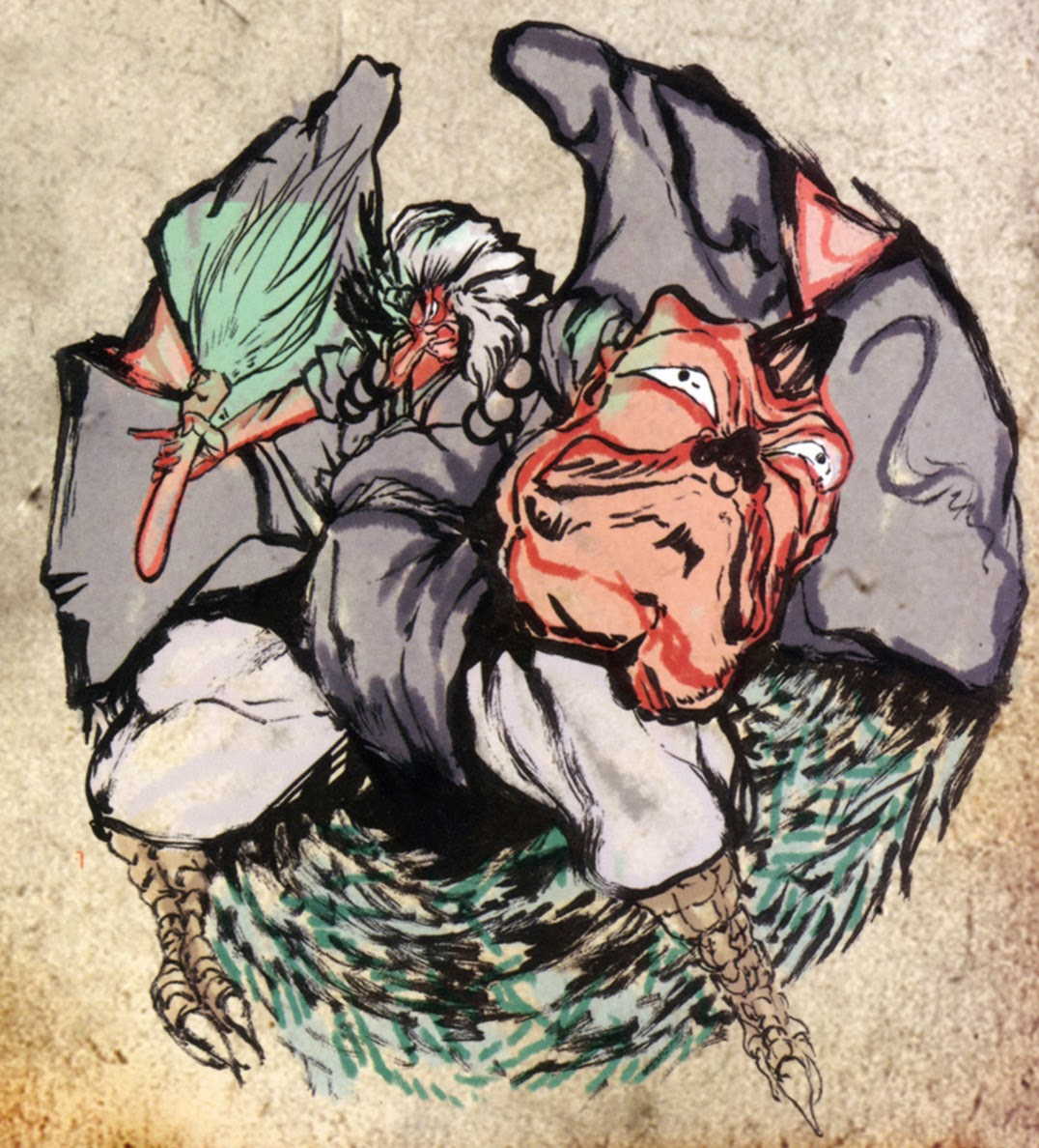 Great Tengu from the game