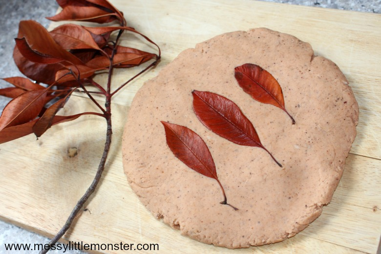 autumn scented playdough - autumn activities for kids