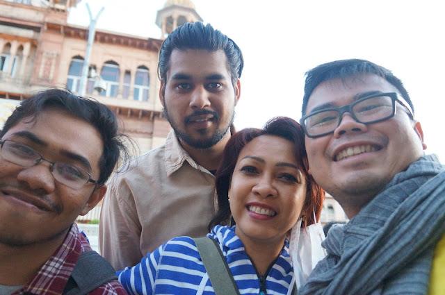 Saya, dan Teman CS, Iman, Rita dan Pricks