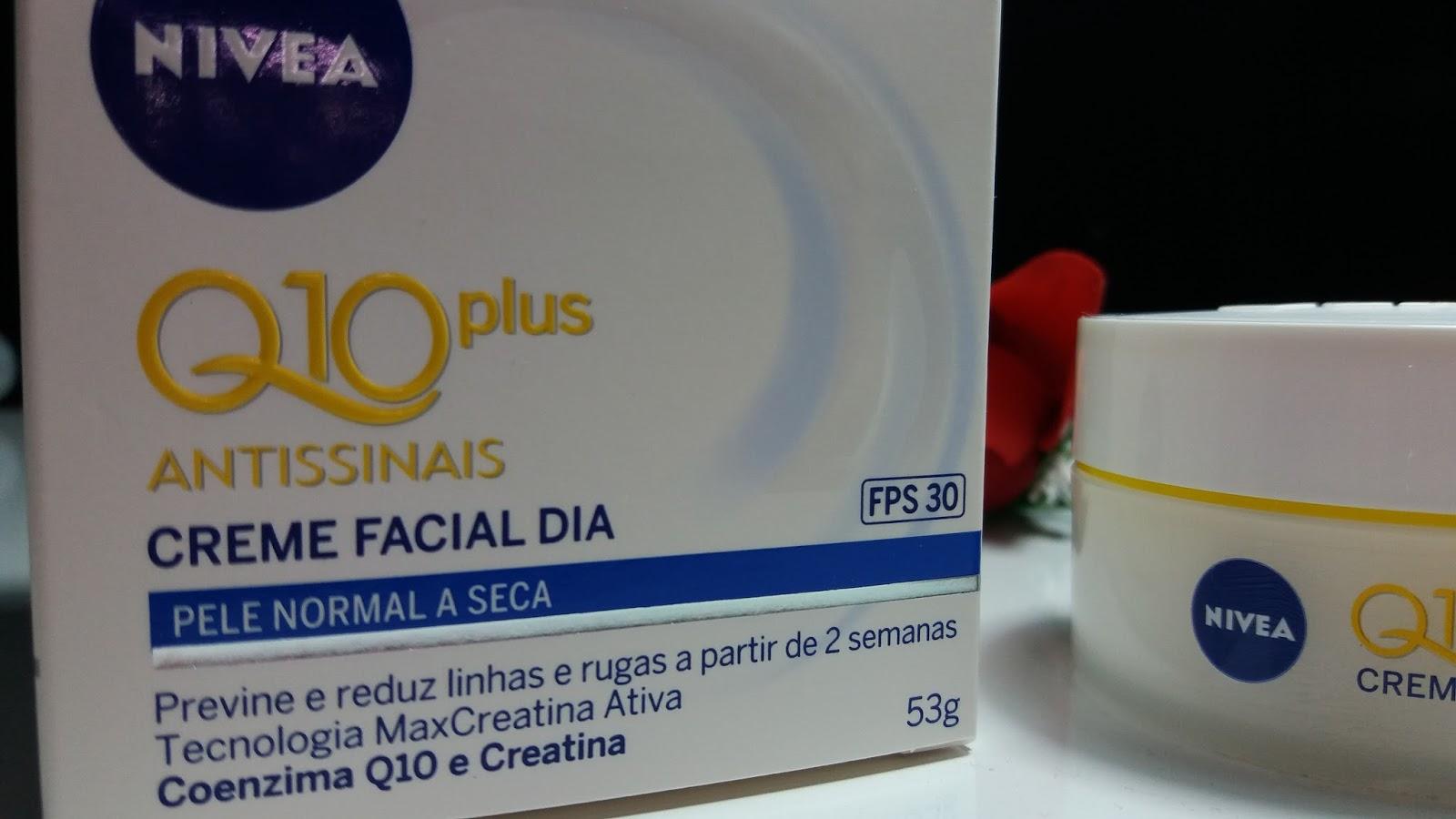 Nivea Q 10 Plus Antissinais  #eu testei