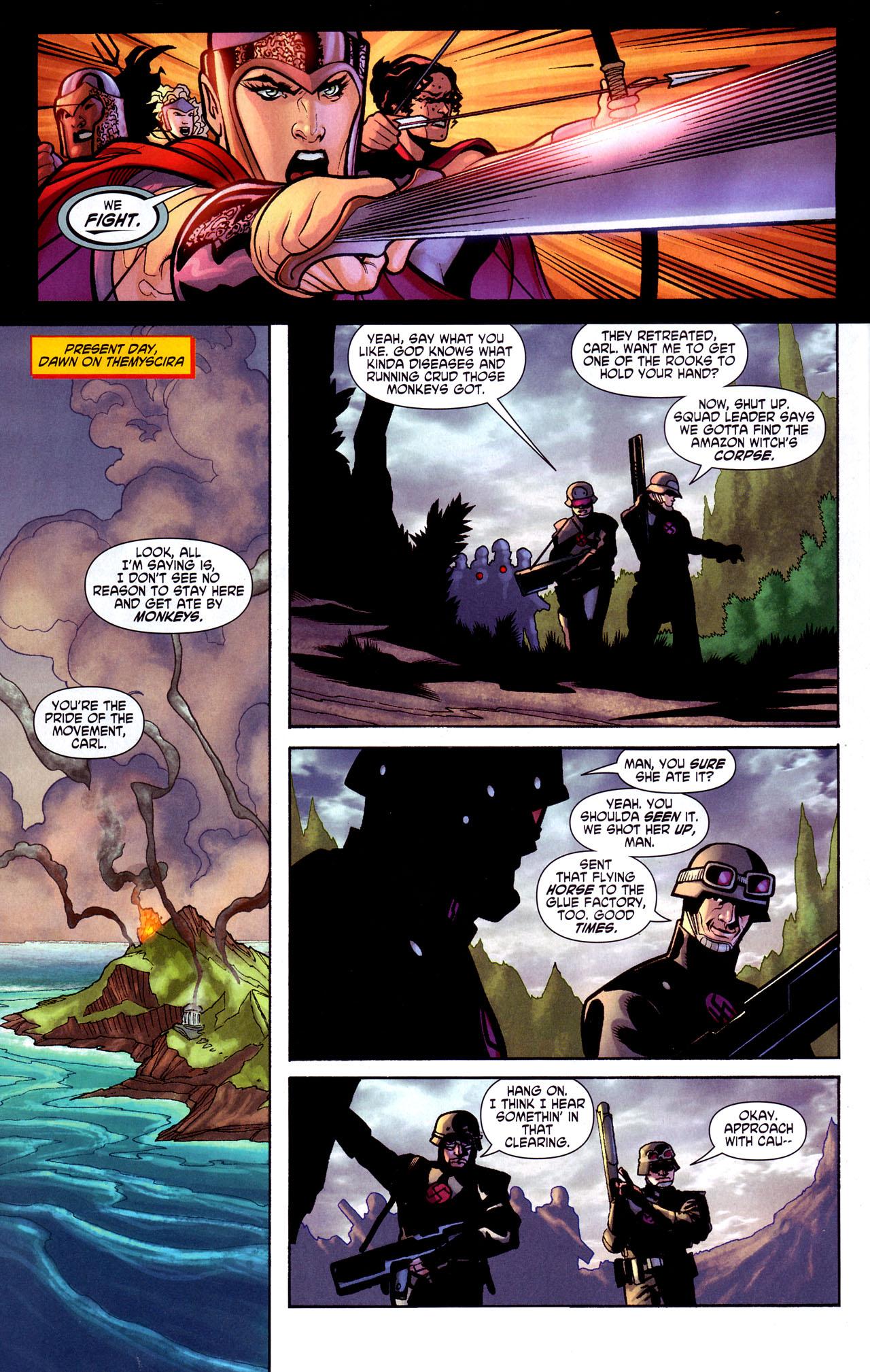 Read online Wonder Woman (2006) comic -  Issue #17 - 8