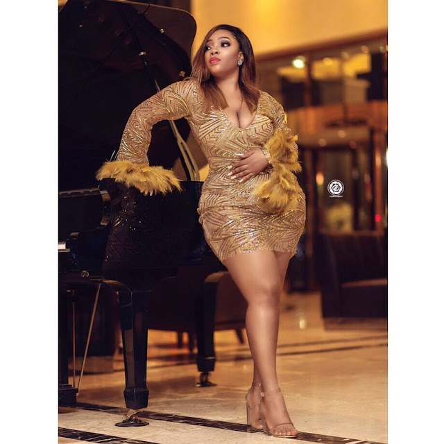 ''Being Curvy Is Not A Crime'' - Ghanaian Actress, Moesha Boduong