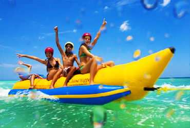 Bali Water Sports Tour | Bali Banana Boat | Sunia Bali Tour