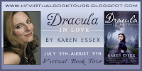 HFVBT Review w/ Bonus Giveaway: Dracula In Love by Karen Essex