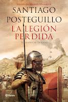 Ranking Mensual. Número 1. La Legión Perdida, de Santiago Posteguillo.
