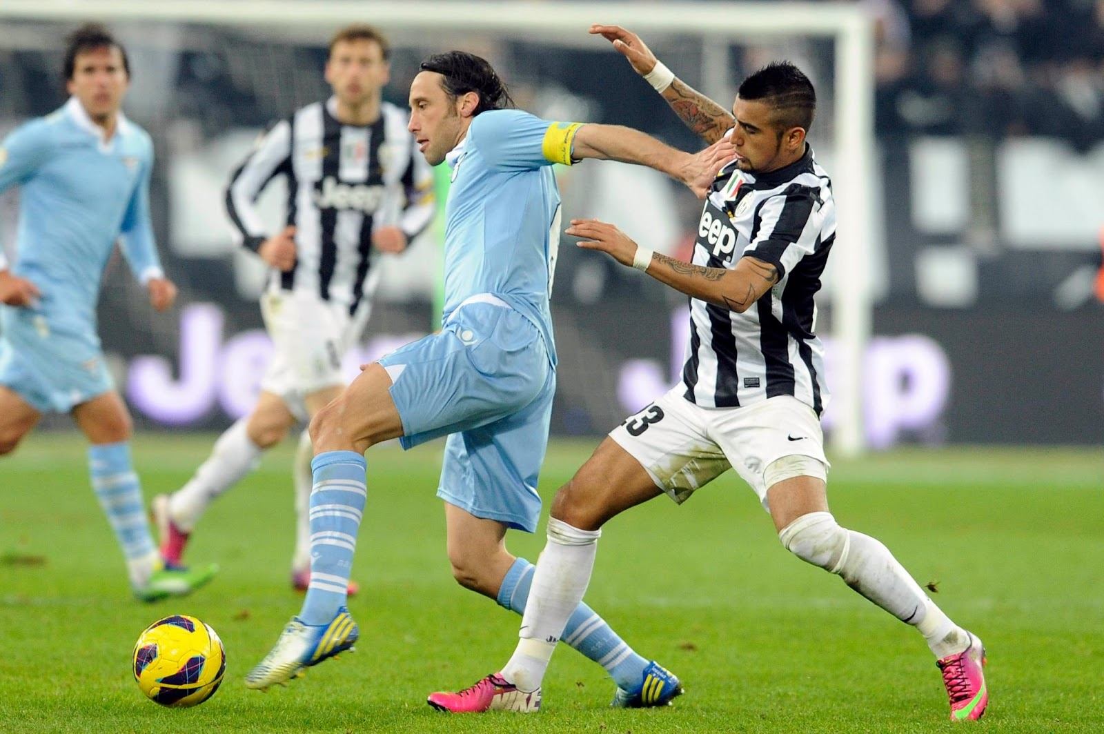Italy Super Cup Juventus Vs Lazio 08 August The New Ball