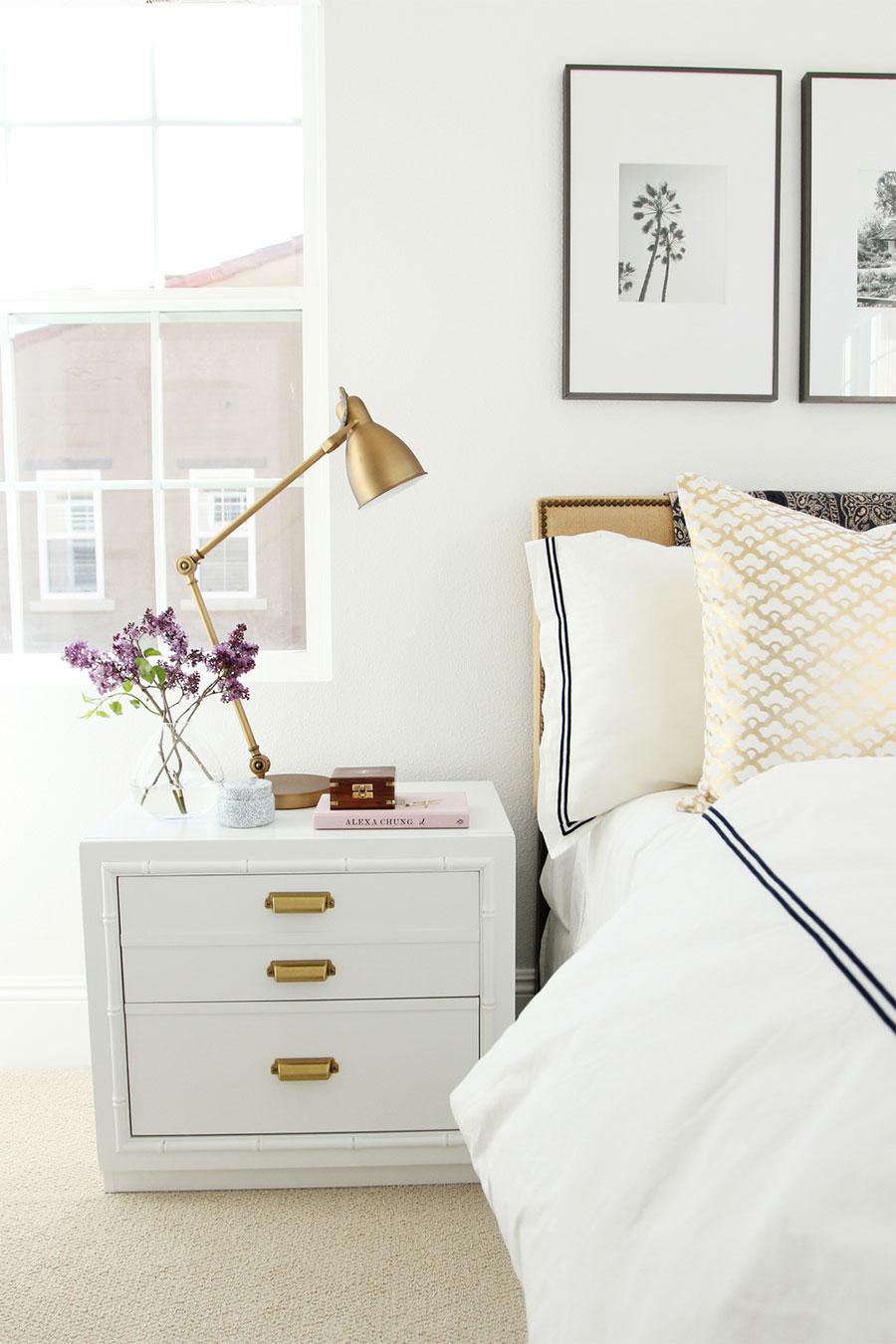 Blog De Moda Y Lifestyle Deco Dormitorios En Blanco Y Dorado