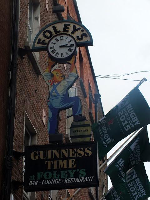 decoración por las calles de Dublín