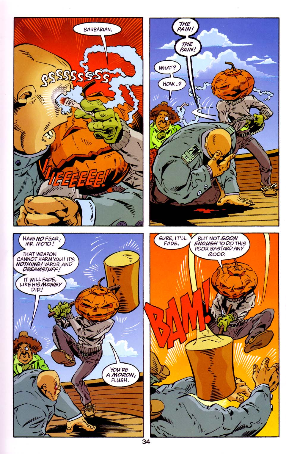 Read online Merv Pumpkinhead, Agent of D.R.E.A.M. comic -  Issue # Full - 35
