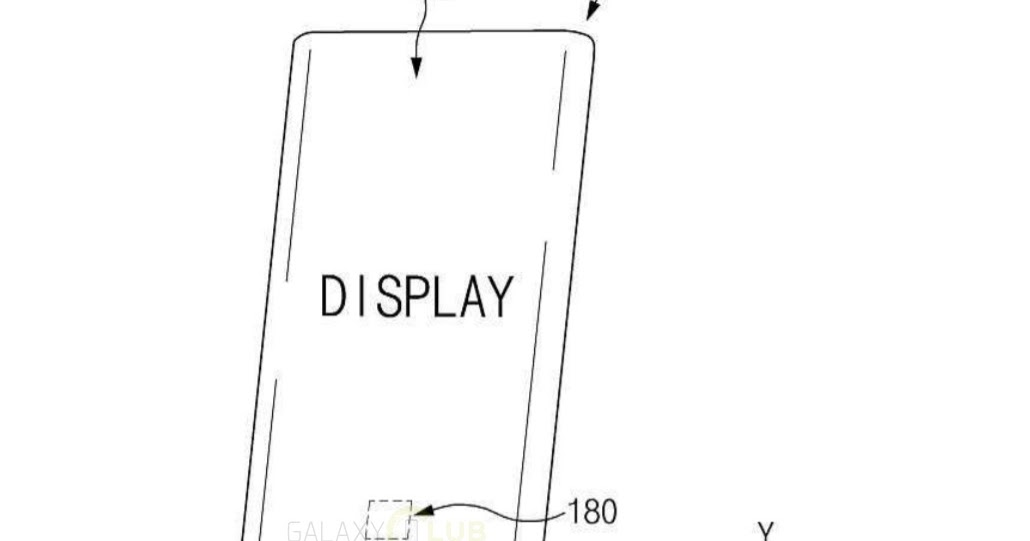 Samsung patents a pressure-sensitive in-display