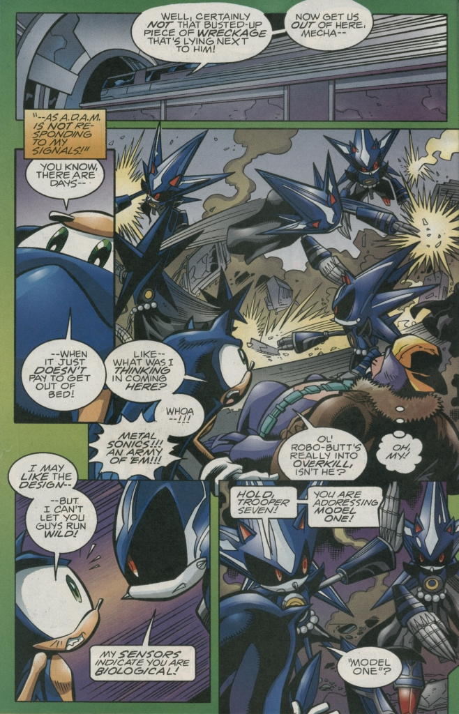 Read online Sonic The Hedgehog comic -  Issue #158 - 6