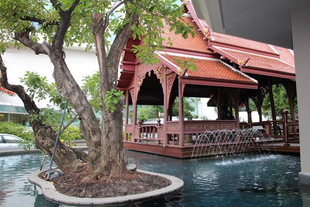 Swissotel Lai Nert Bangkok, Garten