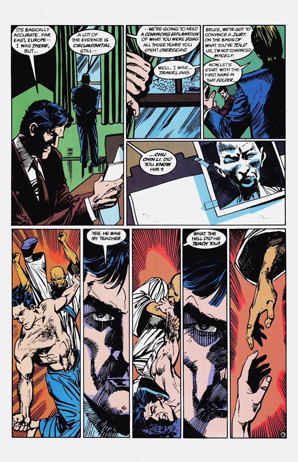 Read online Detective Comics (1937) comic -  Issue # _TPB Batman - Blind Justice (Part 1) - 71