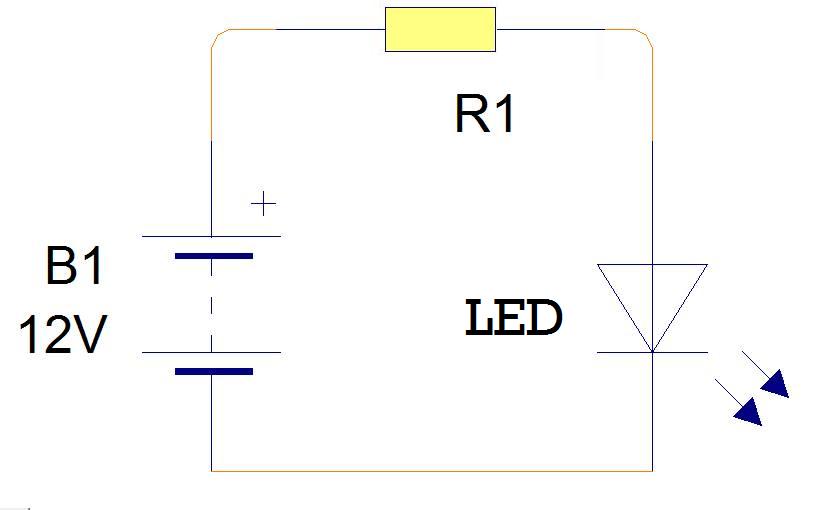 Cara Mudah Menghitung Resistor Untuk LED Untuk Rangkaian