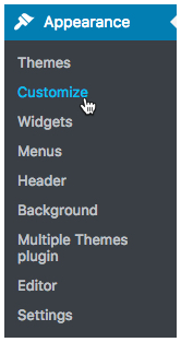 use multiple themes on the same wordpress website