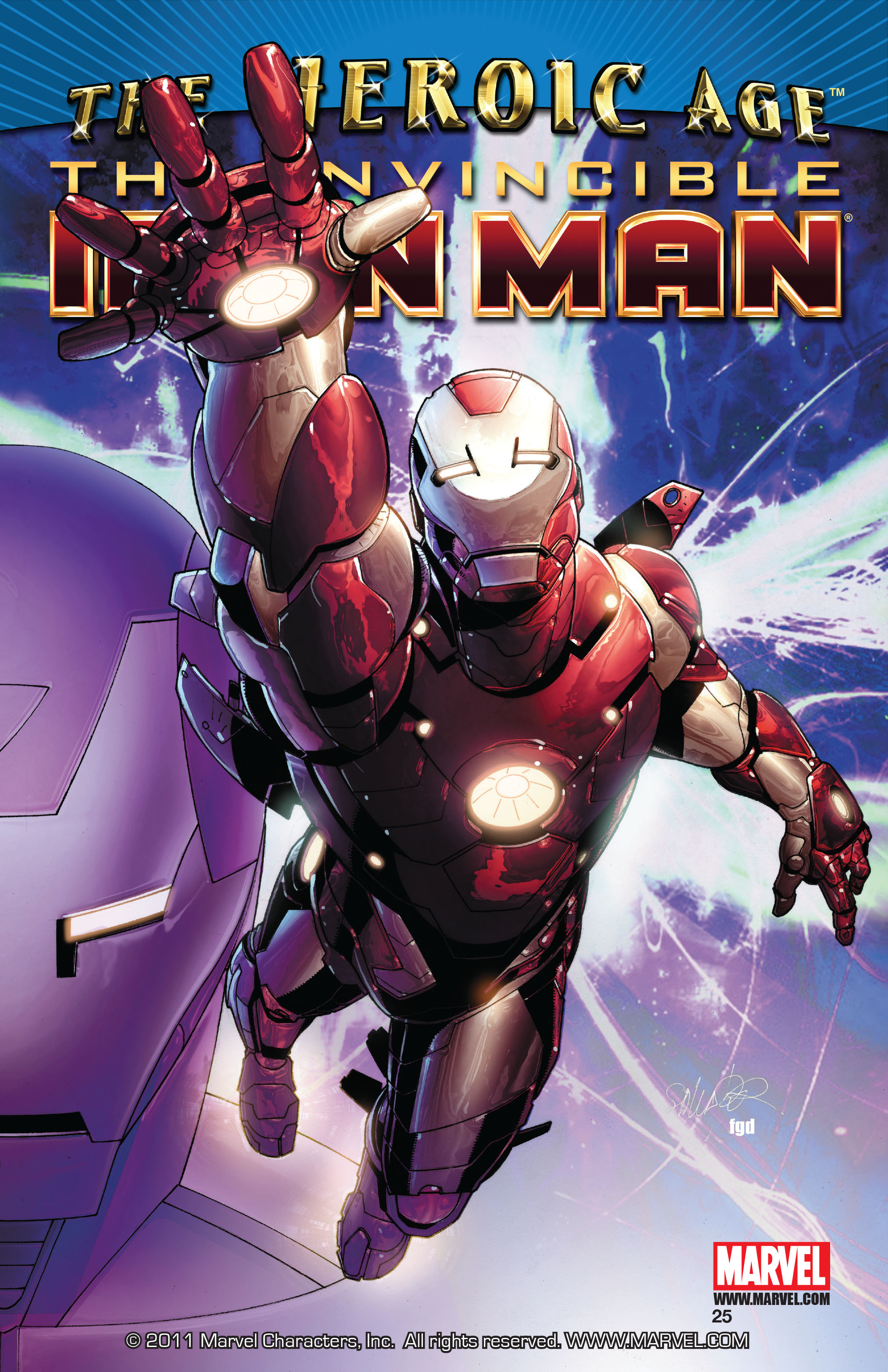 Invincible Iron Man (2008) 25 Page 1