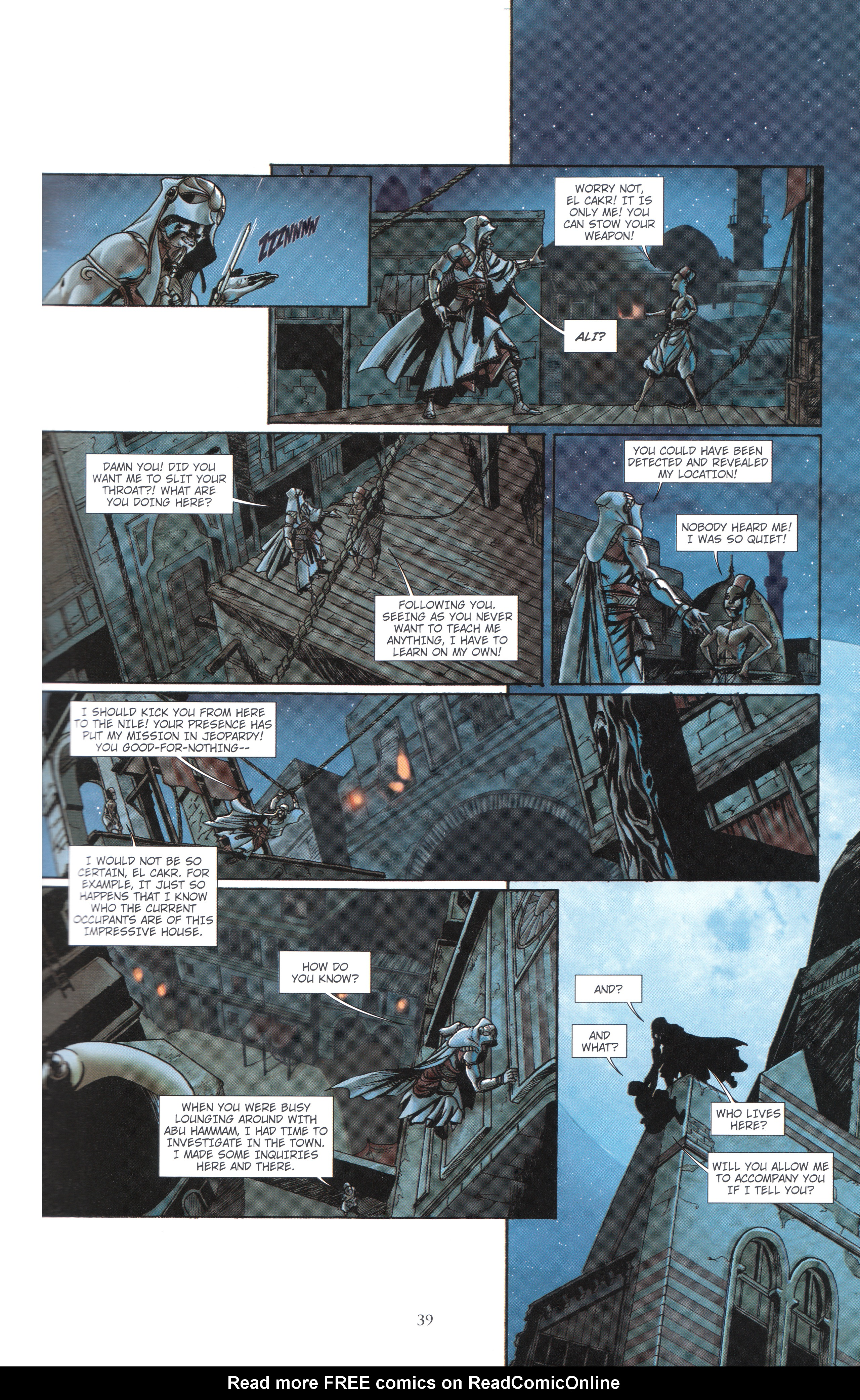 Read online Assassin's Creed (2012) comic -  Issue #4 - 39