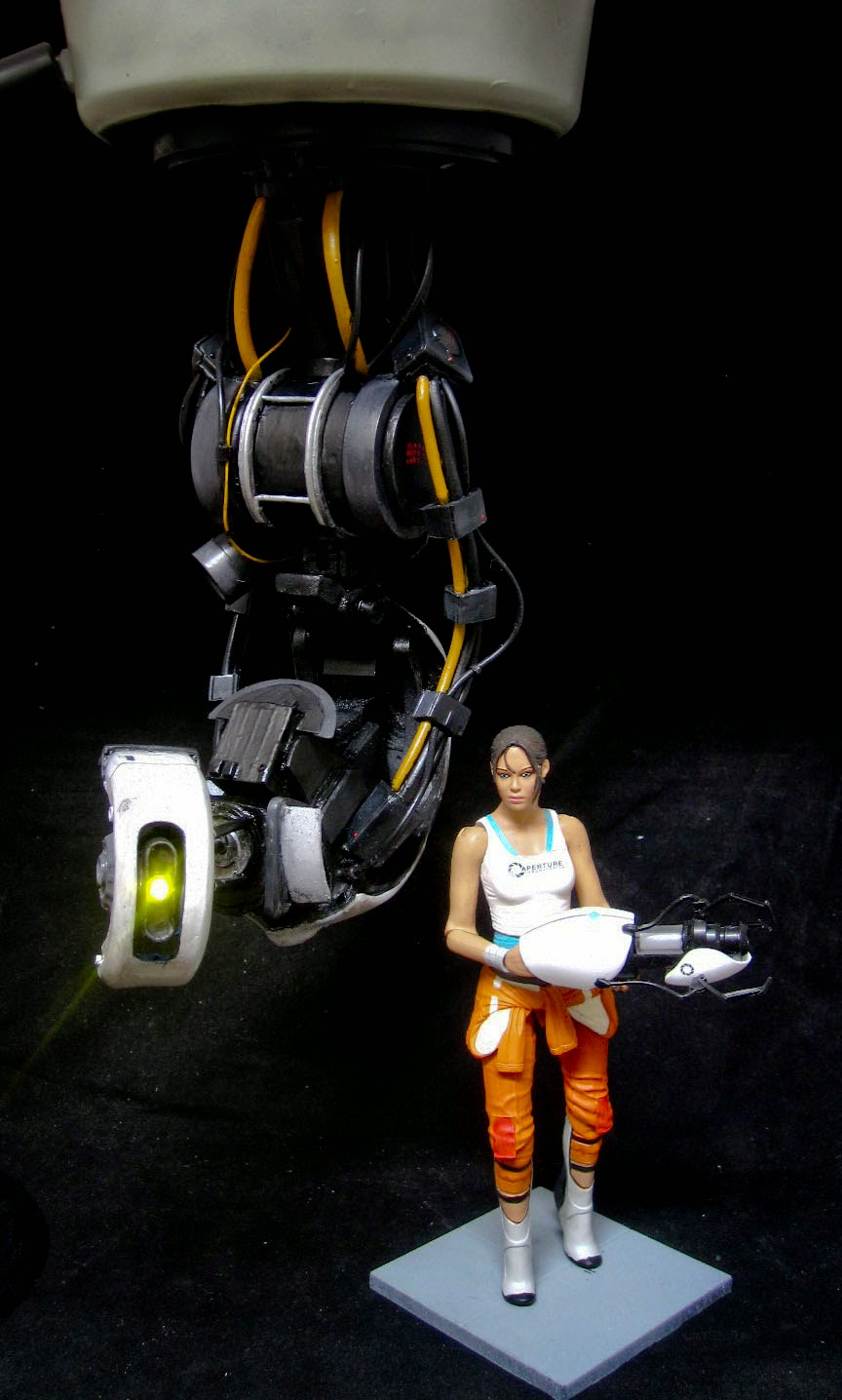 Sabretooth S Workshop Portal 2 Glados Custom Figurine Statue
