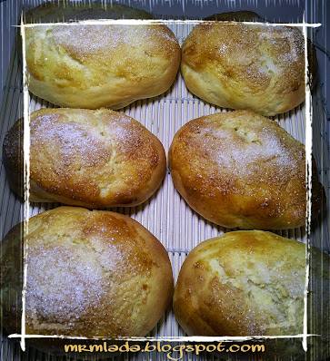 Bollos de mantequilla de Bilbao