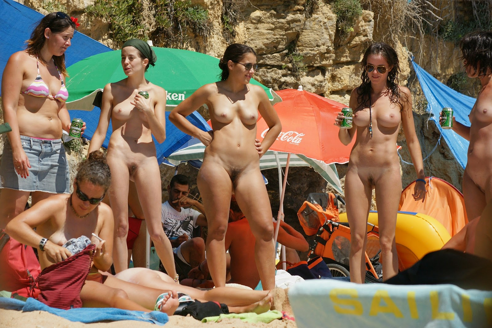 nude girls having sex in beach