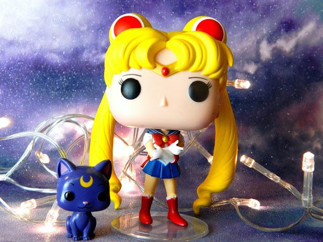 Funko Pop Anime Animation Sailor Moon Usagi Luna