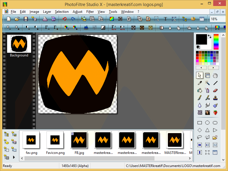 PhotoFiltre Studio X 10.9.1