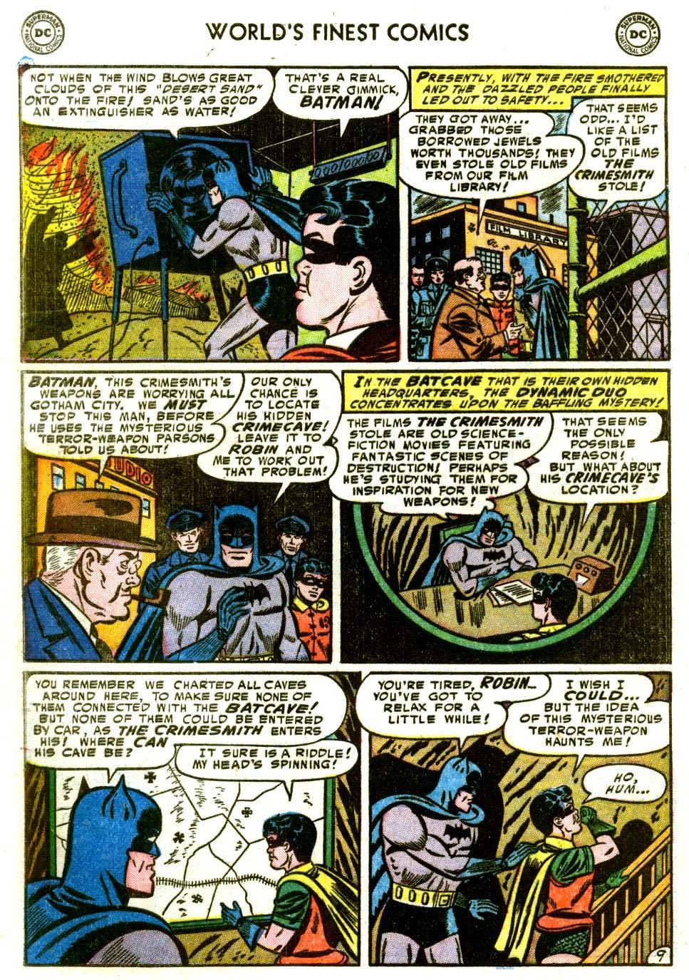 Read online World's Finest Comics comic -  Issue #68 - 62