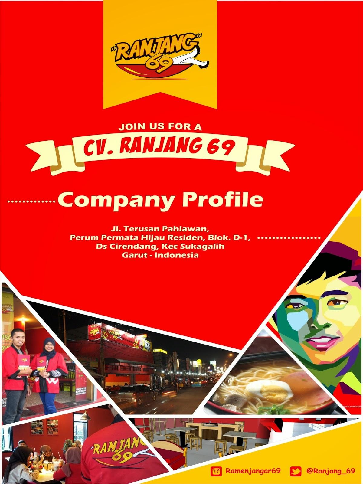 contoh company profile makanan