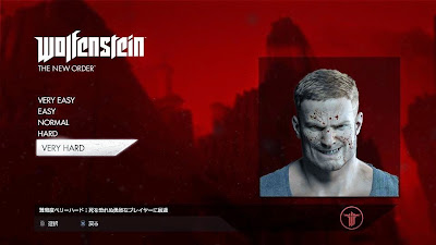 PS4 Wolfenstein:The New Order VERY HARD