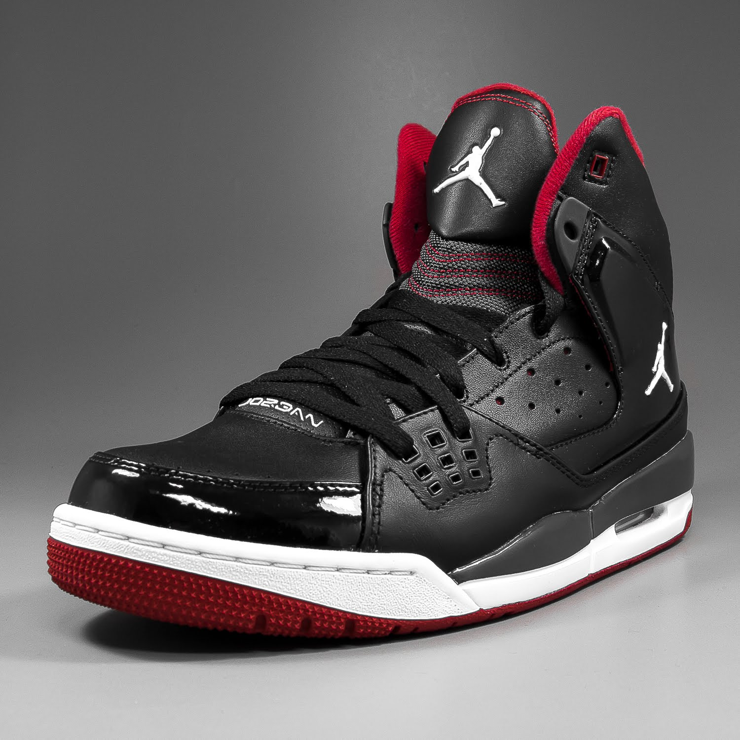 SOLEKITCHEN  Air Jordan - SC-1 black white-red e632ebe9d