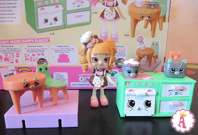 Мебель и куклы Шопкинс из серии Хеппи Плейс сезон 1