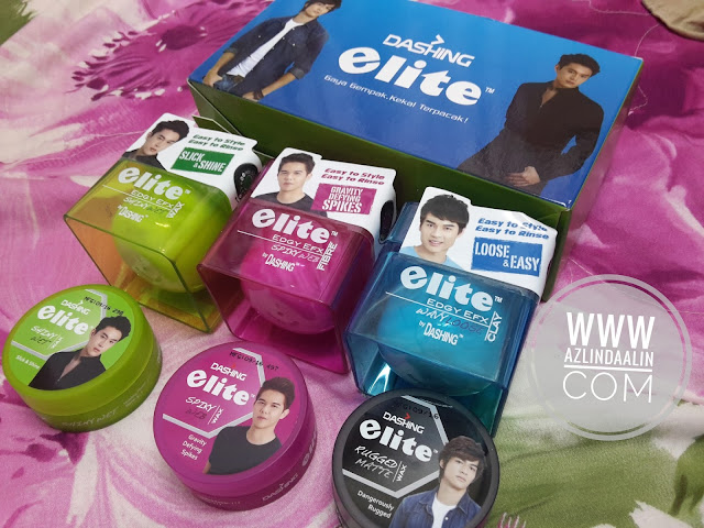 DASHING ELITE ON THE GO HAIR WAX - GAYA GEMPAK, KEKAL TERPACAK