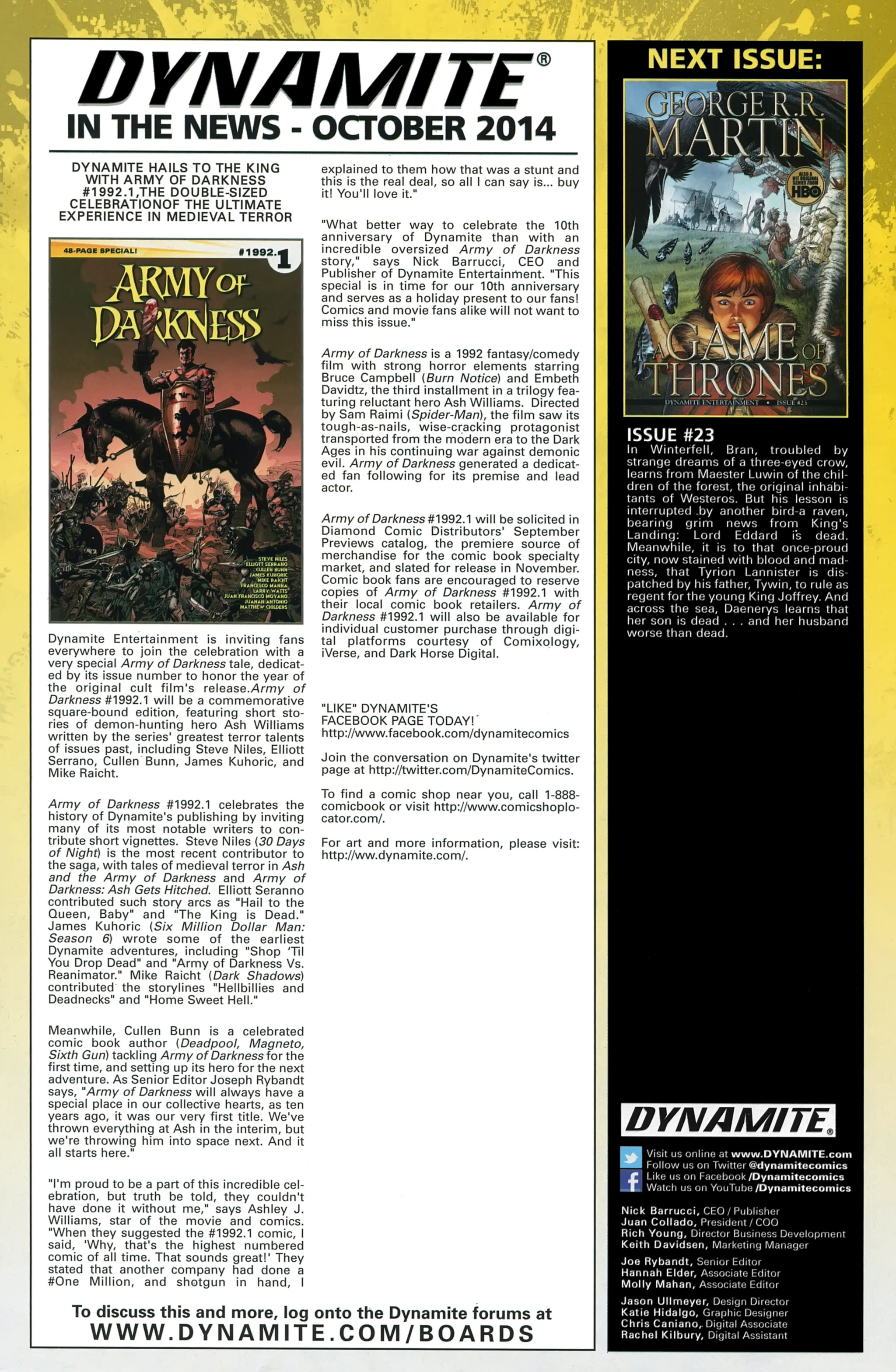 Read online A Game Of Thrones comic -  Issue #22 - 33