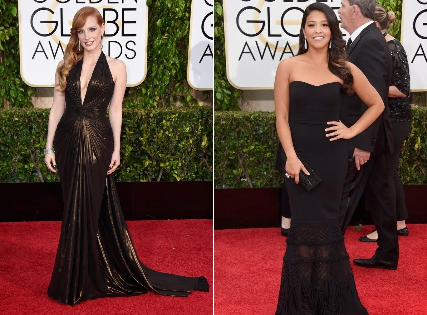 Os looks do Globo de Ouro 2015
