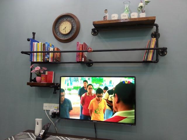 Adni Suite Homestay Seri Manjung Lumut | DIY Pipe Rack